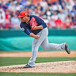 5 March 2016: Detroit Tigers pitcher Bruce Rondon on the mound during a Spring Training pre-season game against the Washington Nationals at Space Coast Stadium in Viera, Florida. The Tigers fell to the Nationals 8-4 in Grapefruit League play. Mandatory Credit: Ed Wolfstein Photo *** RAW (NEF) Image File Available ***