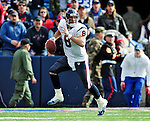 1 November 2009: Houston Texans' quarterback Matt Schaub scrambles in the first quarter against the Buffalo Bills at Ralph Wilson Stadium in Orchard Park, New York, United States of America. The Texans defeated the Bills 31-10. Mandatory Credit: Ed Wolfstein Photo