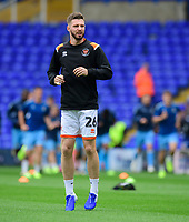 Blackpool's James Husband during the pre-match warm-up<br /> <br /> Photographer Chris Vaughan/CameraSport<br /> <br /> The EFL Sky Bet League One - Coventry City v Blackpool - Saturday 7th September 2019 - St Andrew's - Birmingham<br /> <br /> World Copyright © 2019 CameraSport. All rights reserved. 43 Linden Ave. Countesthorpe. Leicester. England. LE8 5PG - Tel: +44 (0) 116 277 4147 - admin@camerasport.com - www.camerasport.com