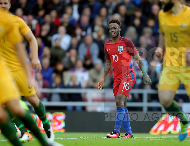 Raheem Sterling of England during the International Friendly match at the Stadium of Light, Sunderland. Photo credit should read: Simon Bellis/Sportimage