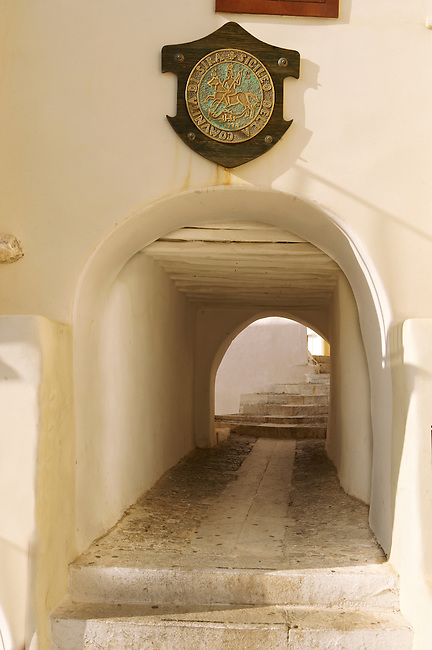Entrance of Ano Syros,   Syros Island [ ????? ] , Greek Cyclades Islands