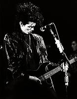 Charlie Sexton<br /> au Club Soda, le 11janvier 1986<br /> <br /> PHOTO :  Agence Quebec Presse