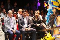 MANAUS, AM, 12.04.2019: COCA-COLA-MANAUS. Wilson Lima, Governador do Estado do Amazonas. Victor Bicca, diretor de relações corporativas da Coca-Cola Braisl, assina documento oficializando o patrocínio de R$ 2,5 milhões que a Coca-Cola destinará aos bumbás em 2019, na manhã desta sexta-feira (12), no Teatro Amazonas, no centro, zona sul da capital Manaus.<br /> Foto: Sandro Pereira/Codigo19