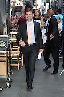 NEW YORK, NY - July 17, 2012: George Stephanopoulos at Good Morning America studios in New York City. &copy; RW/MediaPunch Inc. *NORTEPHOTO*<br />