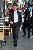NEW YORK, NY - July 17, 2012: George Stephanopoulos at Good Morning America studios in New York City. &copy; RW/MediaPunch Inc. *NORTEPHOTO*<br /> **SOLO*VENTA*EN*MEXICO**<br /> **CREDITO*OBLIGATORIO** <br /> **No*Venta*A*Terceros**<br /> **No*Sale*So*third**<br /> *** No*Se*Permite Hacer Archivo**<br /> **No*Sale*So*third**