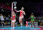 29/10/17 Fast5 2017<br /> Fast 5 Netball World Series<br /> Hisense Arena Melbourne<br /> Grand Final Jamaica v England<br /> <br /> Jo Harten<br /> <br /> <br /> <br /> <br /> Photo: Grant Treeby