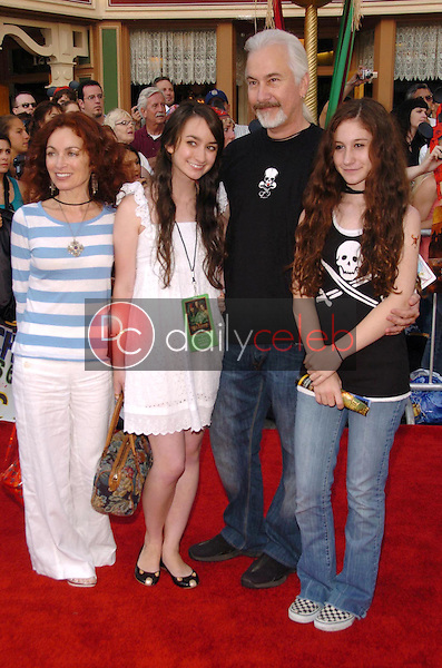 Rick Baker and family<br />