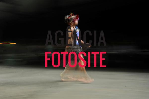 São Paulo, Brasil – 09/06/2010 - Desfile da Erika Ikezili durante o São Paulo Fashion Week  -  Verao 2011. Foto: Cris von Almen / Ag. Fotosite