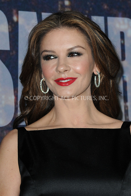 WWW.ACEPIXS.COM<br /> February 15, 2015 New York City<br /> <br /> Catherine Zeta-Jones walking the red carpet at the SNL 40th Anniversary Special at 30 Rockefeller Plaza on February 15, 2015 in New York City.<br /> <br /> Please byline: Kristin Callahan/AcePictures<br /> <br /> ACEPIXS.COM<br /> <br /> Tel: (646) 769 0430<br /> e-mail: info@acepixs.com<br /> web: http://www.acepixs.com