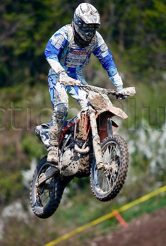 25 04 2010  Pictures Motocross MX Open Sittendorf Sittendorf Austria 25 APR 10 motor Motorcycle Motocross MX Open Sittendorf Picture shows Peter Reitbauer AUT KTM
