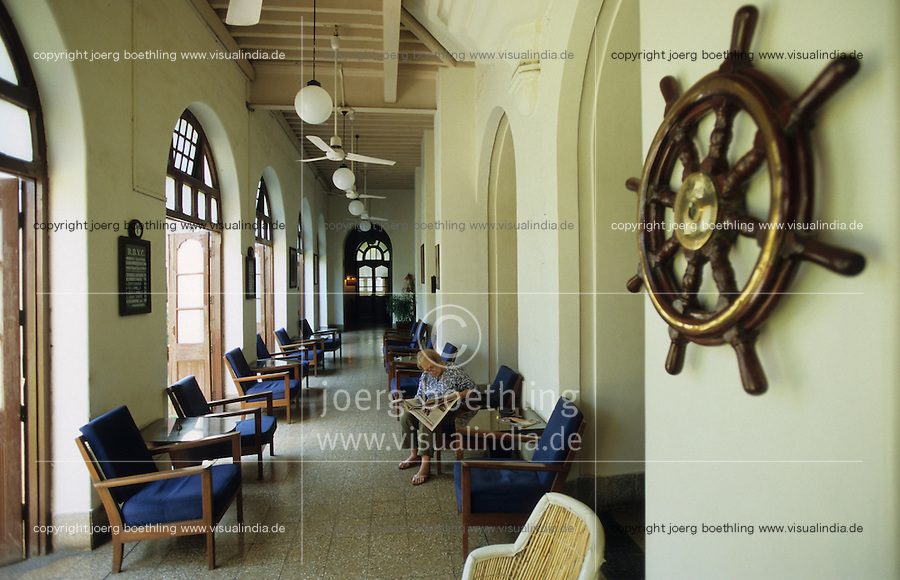 "Asien Indien IND Megacity Mumbai Bombay .Royal Bombay Yacht Club eine Institution aus der britischen Kolonialzeit - Architektur  Kolonialreich Kolonie britische Kronkolonie Kolonialmacht Kolonialherrschaft Geschichte Historisches Bauwerk Sehensw?rdigkeit indische Segler segeln Segelverein xagndaz | .Asia India Mumbai .Royal Bombay Yacht Club a  in Bombay - city building sights architecture tourism travel british empire colony history sailing sail yachting .| [copyright  (c) agenda / Joerg Boethling , Veroeffentlichung nur gegen Honorar und Belegexemplar an / royalties to: agenda  Rothestr. 66  D-22765 Hamburg  ph. ++49 40 391 907 14  e-mail: boethling@agenda-fototext.de  www.agenda-fototext.de  Bank: Hamburger Sparkasse BLZ 200 505 50 kto. 1281 120 178  IBAN: DE96 2005 0550 1281 1201 78 BIC: ""HASPDEHH"" ,  WEITERE MOTIVE ZU DIESEM THEMA SIND VORHANDEN!! MORE PICTURES ON THIS SUBJECT AVAILABLE!! INDIA PHOTO ARCHIVE: http://www.visualindia.net ] [#0,26,121#]"
