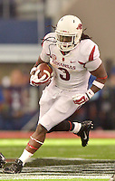 STAFF PHOTO BEN GOFF  @NWABenGoff -- 09/27/14 Arkansas running back Alex Collins carries the ball during the fourth quarter of the Southwest Classic at AT&T Stadium in Arlington, Texas on Saturday September 27, 2014.