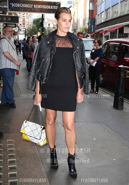 Yasmin Le Bon arriving for the launch night of 'Julius Caesar' at the Noel Coward Theatre, London. 15/08/2012 Picture by: Alexandra Glen / Featureflash
