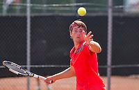 Netherlands, Rotterdam August 05, 2015, Tennis,  National Junior Championships, NJK, TV Victoria, Joris Bodin<br /> Photo: Tennisimages/Henk Koster