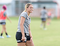 Houston, TX - Thursday Oct. 06, 2016: Lynn Williams during training prior to the National Women's Soccer League (NWSL) Championship match between the Washington Spirit and the Western New York Flash at BBVA Compass Stadium.