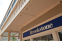 A Brookstone store is pictured at the Settlers' Green Outlet Village in North Conway, New Hampshire Thursday June 13, 2013.