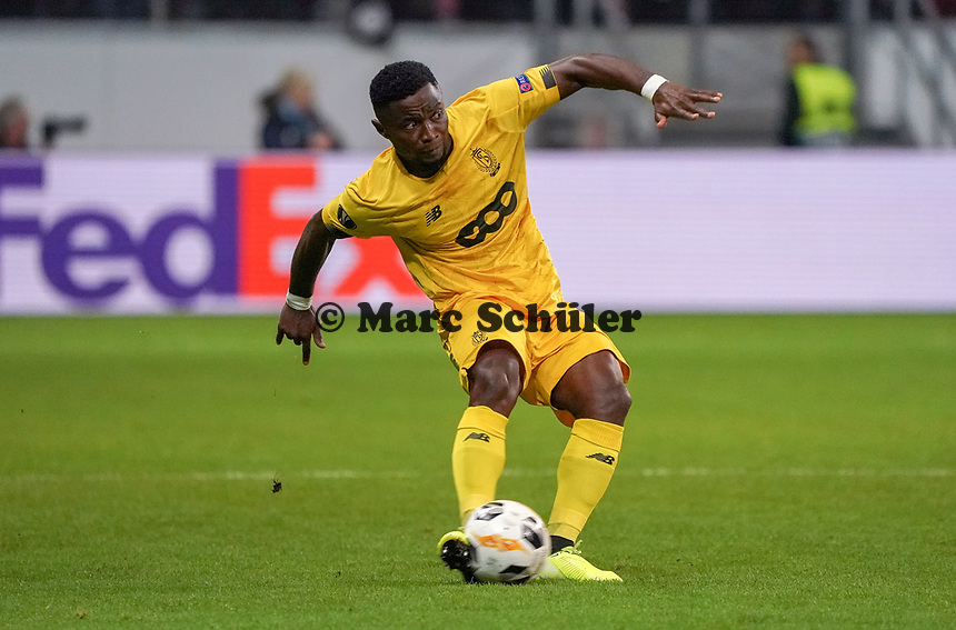 Collins Fai (Standard Lüttich, R. Standard de Liege) - 24.10.2019:  Eintracht Frankfurt vs. Standard Lüttich, UEFA Europa League, Gruppenphase, Commerzbank Arena<br /> DISCLAIMER: DFL regulations prohibit any use of photographs as image sequences and/or quasi-video.