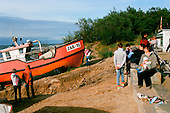 July 2010 Jaroslawiec, Poland<br /> <br /> Jaroslawiec  is a small sea side fishermen's village in the  Slawno County, West Pomeranian Voivodeship, in north-western Poland.<br /> The village has a population of 329 . During summer season over 5000 people visit and spend their holidays here.<br /> <br /> Photo: Ewa Meissner / Napo Images<br /> <br /> lipiec 2010 Jaroslawiec, Polska<br /> <br /> Jaroslawiec jest mala wsia rybacka i rekreacyjno-wypoczynkowa polozona na wybrzezu Morza Baltyckiego, na wschodnim krancu Zatoki Pomorskiej, na Przyladku Jaroslawieckim. <br /> Wies posiada 329 mieszkancow. W sezonie letnim wakacje spedza tu ponad 5000 osob.<br /> <br /> Foto: Ewa Meissner / Napo Images