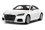 2016 Audi TTS - 2 Door coupe Angular Front stock photos of front three quarter view