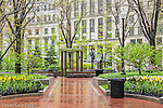 Fountain at the Norman J. Leventhal Park at PostOffice Square, Boston, Massachusetts, USA