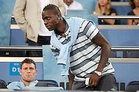 Manchester City's Mario Balotelli during Champions League match. September 18, 2012. (ALTERPHOTOS/Alvaro Hernandez). /NortePhoto.com<br /> <br /> **CREDITO*OBLIGATORIO** *No*Venta*A*Terceros*<br /> *No*Sale*So*third* ***No*Se*Permite*Hacer Archivo***No*Sale*So*third<br /> <br /> <br /> **CREDITO*OBLIGATORIO** *No*Venta*A*Terceros*<br /> *No*Sale*So*third* ***No*Se*Permite*Hacer Archivo***No*Sale*So*third