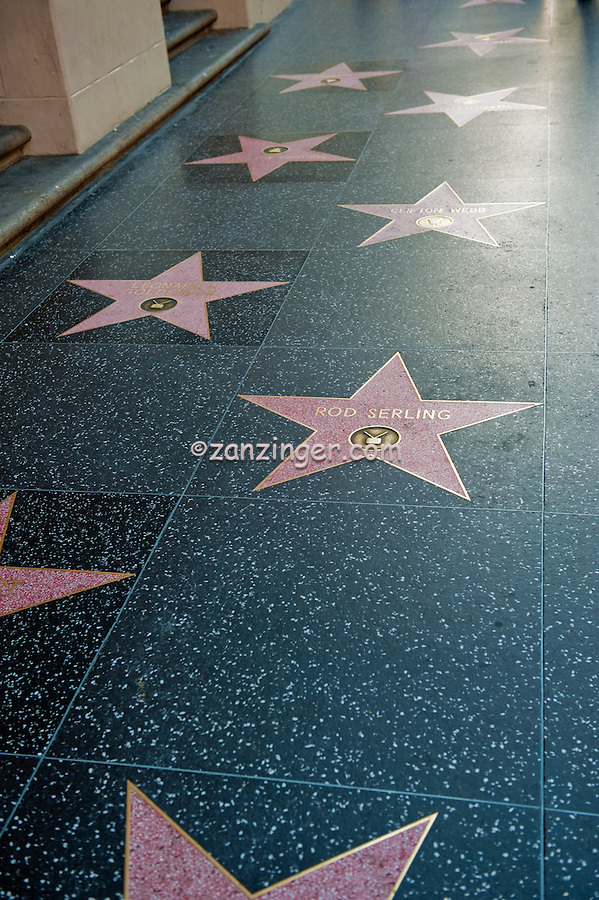 Rod Serling, Hollywood, Boulevard, Stars, Walk of Fame, Hollywood, Ca,  entertainment, tourist, attractions
