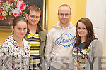 Maggie, Ian, Aidan and Sheila O'Connor, Killarney, at the table quiz in aid of Aware in the Dromhall on Friday night.