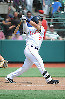 Brooklyn Cyclones outfielder Michael Conforto (39) during game against the Williamsport Crosscutters at MCU Park on July 21, 2014 in Brooklyn, NY.  Brooklyn defeated Williamsport  5-2.  (Tomasso DeRosa/Four Seam Images)