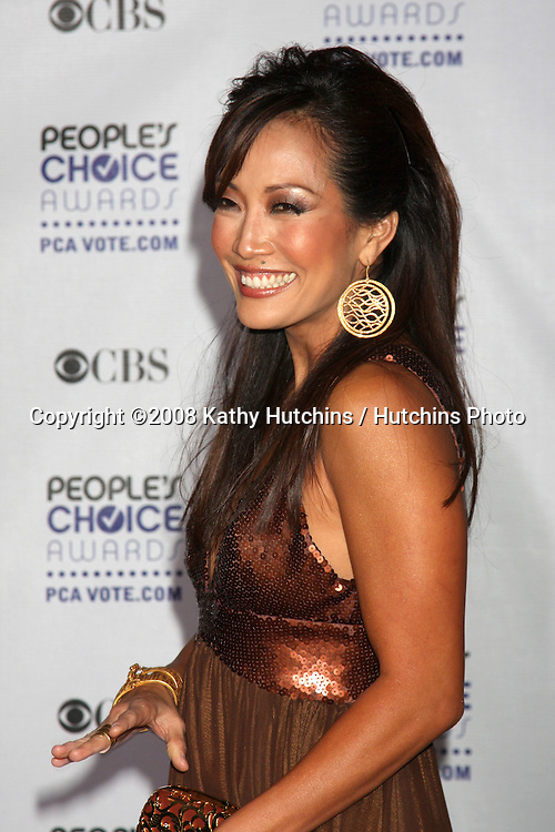 Carrie Ann Inaba arriving at the People's Choice Awards at the Shrine Auditorium, in Los Angeles, CA on .January 7, 2009.©2008 Kathy Hutchins / Hutchins Photo..                .