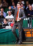 S&ouml;dert&auml;lje 2014-10-01 Basket Basketligan S&ouml;dert&auml;lje Kings - Norrk&ouml;ping Dolphins :  <br /> Norrk&ouml;ping Dolphins Norrk&ouml;ping Dolphins tr&auml;nare head coach Lars Lasse Johansson gestikulerar<br /> (Foto: Kenta J&ouml;nsson) Nyckelord:  S&ouml;dert&auml;lje Kings SBBK T&auml;ljehallen Norrk&ouml;ping Dolphins portr&auml;tt portrait tr&auml;nare manager coach