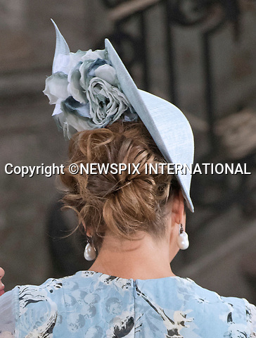 14.07.2017; Stockholm Sweden: PRINCESS MADELEINE (Hair Style)<br /> attends the church service to celebrate Crown Princess Victoria&rsquo;s 40th Birthday at the Royal Chapel in Stockholm<br /> Mandatory Photo Credit: &copy;Francis Dias/NEWSPIX INTERNATIONAL<br /> <br /> IMMEDIATE CONFIRMATION OF USAGE REQUIRED:<br /> Newspix International, 31 Chinnery Hill, Bishop's Stortford, ENGLAND CM23 3PS<br /> Tel:+441279 324672  ; Fax: +441279656877<br /> Mobile:  07775681153<br /> e-mail: info@newspixinternational.co.uk<br /> Usage Implies Acceptance of Our Terms &amp; Conditions<br /> Please refer to usage terms. All Fees Payable To Newspix International