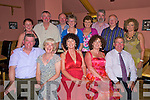 Twins Carmel Fitzgerald and Agnes Curran, Killarney, pictured with Michael and Mairead O'Donovan, Humphrey Curran, Bridie and Brian Fitzgerald, Noel Fitzgerald, Claire Breen, Valerie and Brendan Fitzgerald, Gerald and Pascaline Fitzgerald, as they celebrated their 50th birthdays in Beaufiort Bar on Saturday night.....