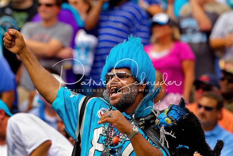 The Carolina Panthers vs. Jacksonville Jaguars at Bank of America Stadium in Charlotte, North Carolina...Photos by: Patrick Schneider Photo.com