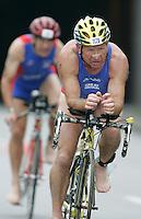 02 SEP 2007 - HAMBURG, GER - Ray Gray - World Age Group Triathlon Championships. (PHOTO (C) NIGEL FARROW)