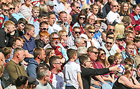 Burnley fans enjoy the game<br /> <br /> Photographer Alex Dodd/CameraSport<br /> <br /> The Premier League - Burnley v Bournemouth - Sunday 13th May 2018 - Turf Moor - Burnley<br /> <br /> World Copyright &copy; 2018 CameraSport. All rights reserved. 43 Linden Ave. Countesthorpe. Leicester. England. LE8 5PG - Tel: +44 (0) 116 277 4147 - admin@camerasport.com - www.camerasport.com