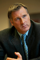 Montreal (Qc) CANADA - file photo- Dec 8, 2006- <br /> Maxime Bernier.<br /> <br /> The Honourable Maxime Bernier<br /> Minister of Foreign Affairs<br /> <br /> Beauce (Quebec)<br /> <br /> Maxime Bernier, first elected to the House of Commons in 2006, was appointed Minister of Industry on February 6, 2006.<br /> <br /> Before his election, Mr. Bernier was Vice-President of Corporate Affairs and Communications for Standard Life of Canada insurance company, and Director of Business and International Relations at the Commission des valeurs mobili&Euml;res du Qu&Egrave;bec. He has worked for financial and banking institutions and has provided advice on their behalf on various legislative issues.<br /> <br /> Mr. Bernier is a lawyer with a bachelor&iacute;s degree in commerce. He was a member of the board of the Montreal Economic Institute and is a member of several charitable organizations. He was born and raised in Beauce, Quebec.<br /> Photo (c)  Images Distribution