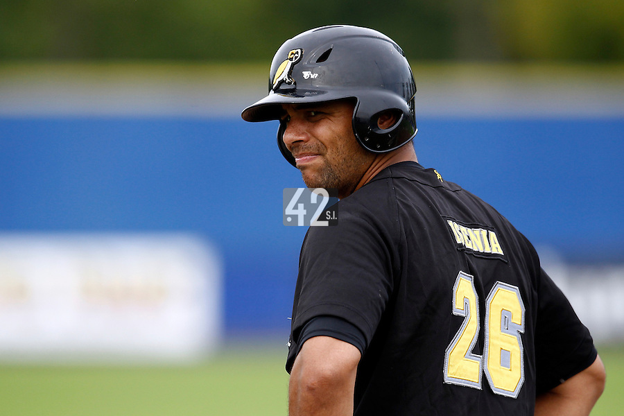 10 September 2011: Percy Isenia of L&D Amsterdam Pirates is seen during game 4 of the 2011 Holland Series won 6-2 by L&D Amsterdam Pirates over Vaessen Pioniers, in Amsterdam, Netherlands.