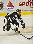 29 December 2014: Providence College Friar Forward Brandon Tanev, a Junior from Toronto, Ontario, in third period action against the University of Vermont Catamounts during the deciding game of the annual TD Bank-Sheraton Catamount Cup Tournament at Gutterson Fieldhouse in Burlington, Vermont. The Friars shut out the Catamounts 3-0 to win the 2014 Cup. Mandatory Credit: Ed Wolfstein Photo *** RAW (NEF) Image File Available ***