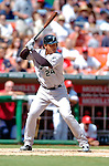 5 September 2005: Miguel Cabrera, All-Star outfielder for the Florida Marlins, at bat during a game against the Washington Nationals. The Nationals defeated the Marlins 5-2 at RFK Stadium in Washington, DC. Mandatory Photo Credit: Ed Wolfstein.
