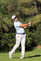 Lars Van Meijel (Ned) on the 5th tee during Round 3 of the Challenge Tour Grand Final 2019 at Club de Golf Alcanada, Port d'Alcúdia, Mallorca, Spain on Saturday 9th November 2019.<br /> Picture:  Thos Caffrey / Golffile<br /> <br /> All photo usage must carry mandatory copyright credit (© Golffile | Thos Caffrey)