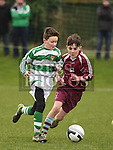 Drogheda Schoolboy league U-12 Sean O'Donoghue Midlands Schoolboy League Jamie Jones . Photo:Colin Bell/pressphotos.ie