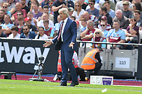West Ham Manager Manuel Pellegrini  during West Ham United vs Manchester City, Premier League Football at The London Stadium on 10th August 2019