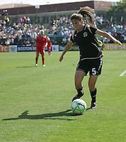 Tina DiMartino. Washington Freedom defeated FC Gold Pride 4-3 at Buck Shaw Stadium in Santa Clara, California on April 26, 2009.