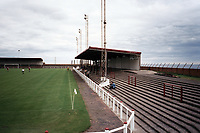 General view of Arbroath FC Football Ground, Gayfield Park, Arbroath, Angus, Scotland, pictured on 25th July 1999