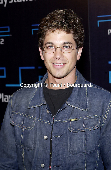 Adam Garcia arriving at the PlayStation 2 E3 party at the American Legion in Los Angeles  5/15/2001 © TsuniGarciaAdam04.jpg