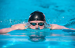 MESA, AZ - APRIL 25:  Michael Weiss swims in the Men's 400M Individual Medley Heats during the Grand Prix of Swimming on April 25, 2014 in Mesa, California.  (Photo by Donald Miralle for Sports Illustrated)
