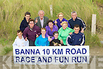 RUN: On Tuesday at Banna Strand,members of St Brendan's Athletic's Club, announced details of their forth coming 10KM Run on August 1st 29010. Front l-r: Irla Courtney,Laoise McElligott,. Cona?gh Fitzgerald and Eoghan Courtney. Back l-r: Una and Mary Marley, Tom O'Riordan, Orlla Fitzgerald, Bernioe Slattery and Pat Eganm.