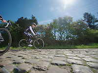 Fabian Cancellara (CHE/TrekFactoryRacing)<br /> <br /> 2014 Paris - Roubaix reconnaissance