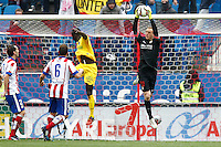 Atletico Madrid's Spanish goalkeeper Jan Oblak in action