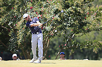 Graham Delaet (CAN) tees off the 2nd tee during Saturday's Round 3 of the 2017 PGA Championship held at Quail Hollow Golf Club, Charlotte, North Carolina, USA. 12th August 2017.<br /> Picture: Eoin Clarke | Golffile<br /> <br /> <br /> All photos usage must carry mandatory copyright credit (&copy; Golffile | Eoin Clarke)